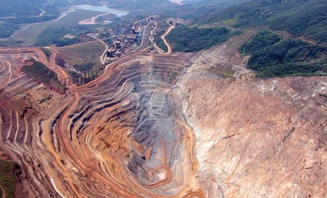 Amazônia: paraíso extrativista e tributário das transnacionais da mineração.