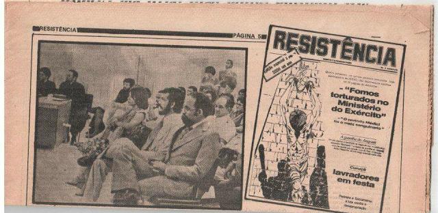 Ditadura Militar: Documentos sobre a prisão de Paulo Fonteles e Hecilda Veiga – Brasília/1971