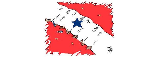 Carlos Bordalo: Nota de pesar e repúdio às mortes ocorridas no dia 20 de janeiro de 2017