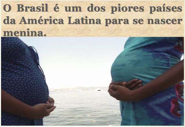 """Angelina Anjos: """"O Brasil é um dos piores países da América Latina para se nascer menina"""""""