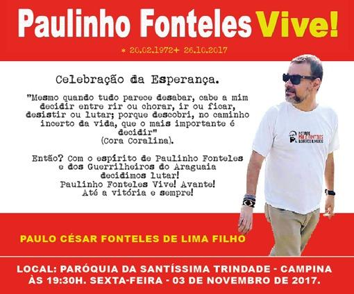 Paulo Fonteles Filho: Celebração da Esperança