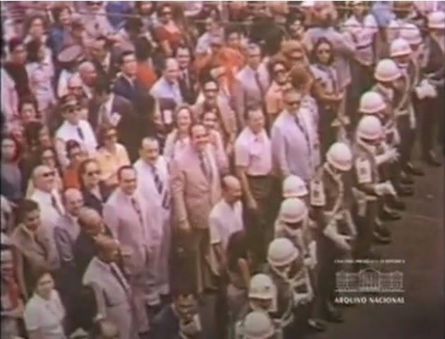 Círio de 1974: O crème de la crème da ditadura também fez uso oportunista, a santinha acertou as contas do abuso e impôs derrota aos generais