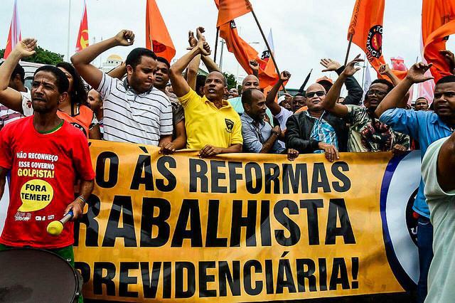 Centrais sindicais convocam atos em todo país nesta sexta contra reforma trabalhista