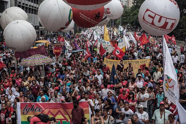 SP: Trabalhadores relatam impactos da reforma da Previdência em ato contra a medida