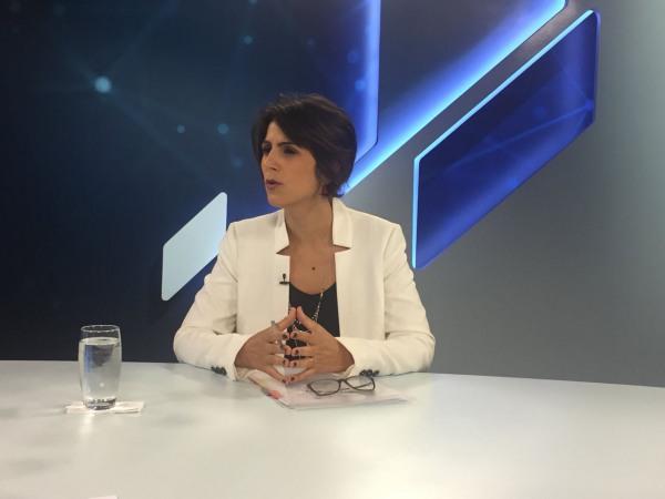 Entrevista da pré-candidata Manuela D'Ávila no Canal Livre da Band