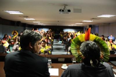 #ABRILindígena: mais de 150 indígenas da etnia Xikrin participam de ato público no MPF