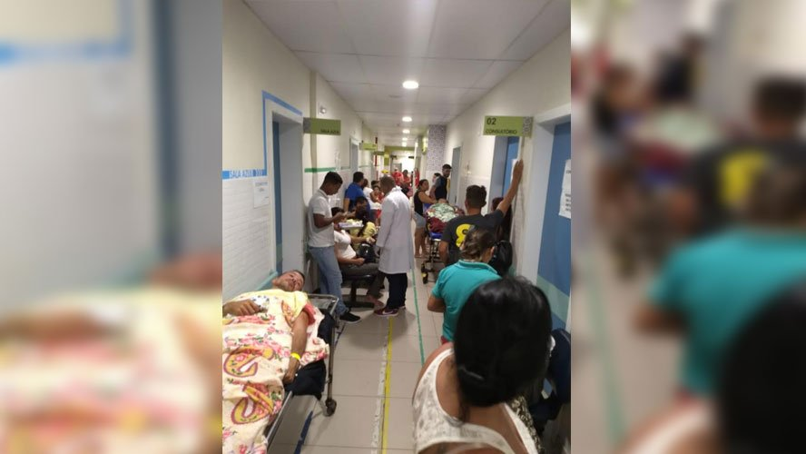 Com fechamento do hospital do Guamá, pacientes são atendidos no corredor do PSM da 14