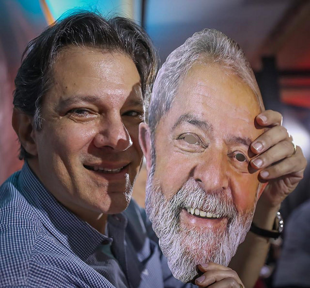 PT indica Fernando Haddad como vice na chapa com Lula