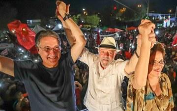 INCONFIDÊNCIA:  Lula conclama povo de Minas Gerais a fazer justiça nas urnas
