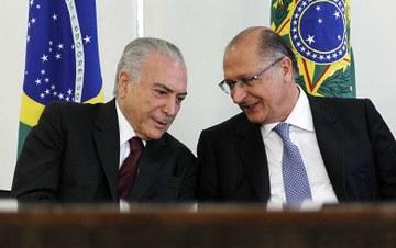 PONTE PARA O ATRASO:  Alckmin vai seguir os 'trilhos' do governo Temer, diz braço direito de FHC