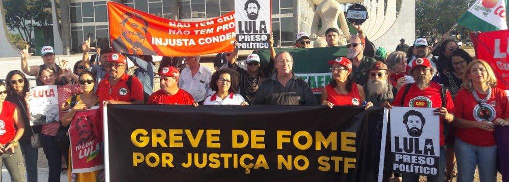 Entidades de direitos humanos exortam que greve de fome já é vitoriosa.