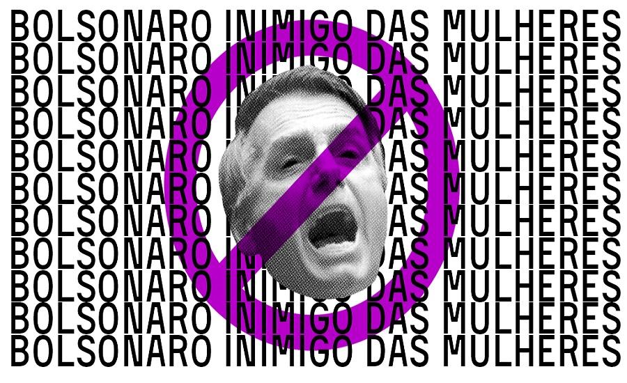 #EleNão: Mulheres irão às ruas, neste sábado (29), contra Bolsonaro e o fascismo