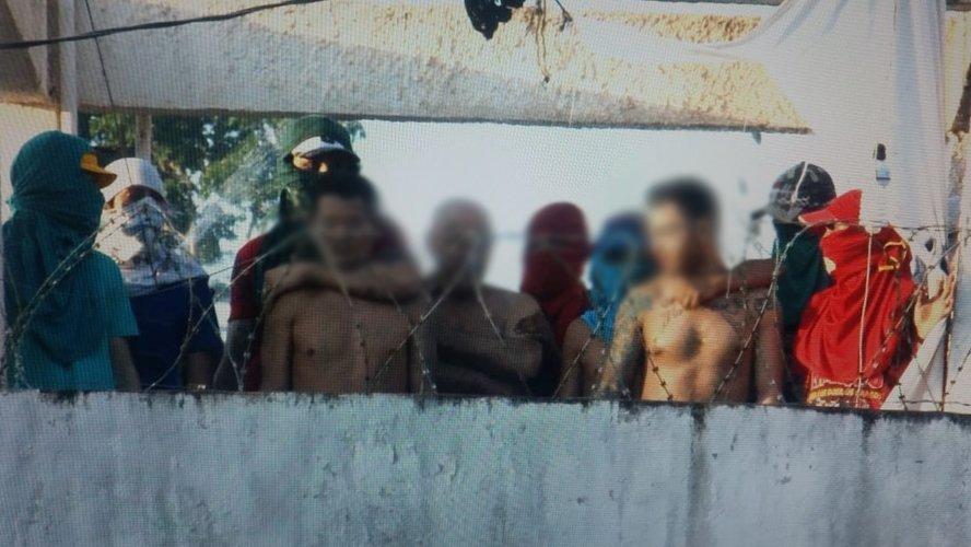 Revolta em presídio contou com 120 amotinados e sete mortos