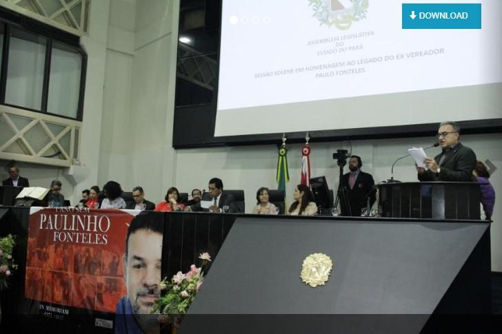 Alepa realiza Sessão Solene em homenagem a Paulo Fonteles Filho