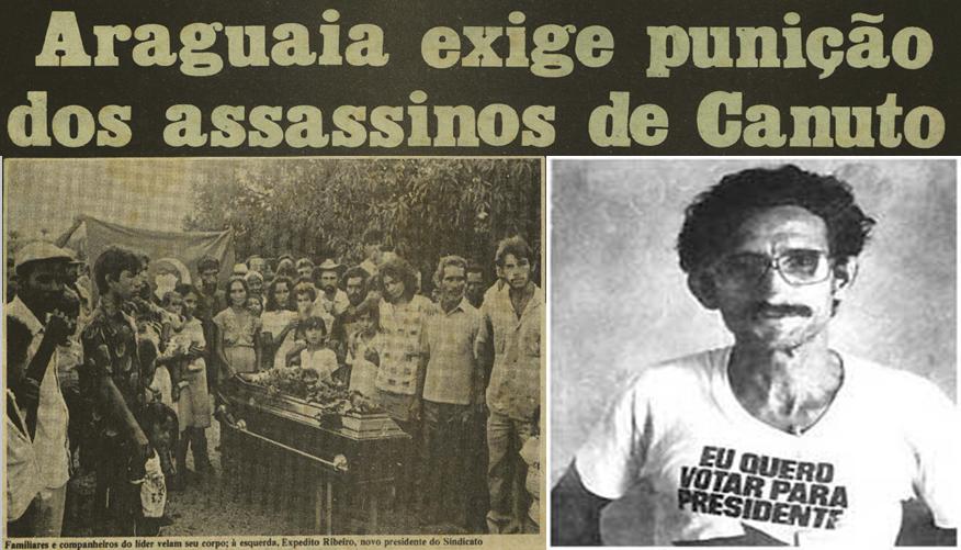 Há 33 anos o líder camponês João Canuto foi morto pelo latífúndio
