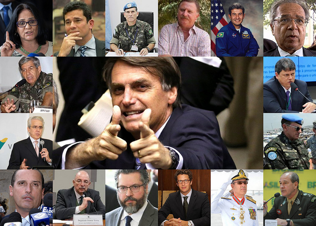 RAIO-X: Militares, burocratas, políticos profissionais: quem é quem no governo Bolsonaro